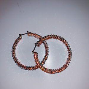 Rhinestone hoops